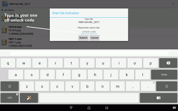 Download and activation process : by VisitMyHarbour [Android: Marine