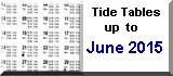 Tide tables 2014-2015